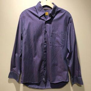 Robert Talbott Carmel men's button down shirt M